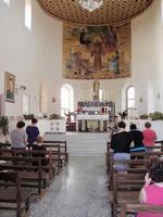 Interno chiesa di Borgo Cascino    ENNA Rosario Colianni