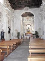 Chiesa dedicata alla Madonna del Rosario -interno-   - Favara (3802 clic)