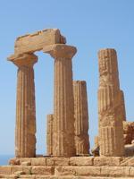 Valle dei Templi - Tempio di Giunone   - Agrigento (3989 clic)