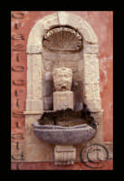 particolare fontana ninfa zizza 1607  - Militello in val di catania (1960 clic)