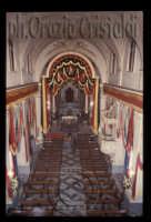 chiesa madre particolarmente addobbata in occasione della festa del Patrono  - San giovanni la punta (4678 clic)
