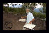 la raccolta della manna: estrata dal frassino dalle mani sapienti di Giulio Gelardi  - Pollina (8111 clic)