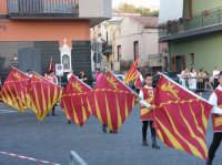 VI° Festa Medievale Festa del Ducato 2007 Camporotondo Etneo (CT). Particolare delle Bandiere.  - Camporotondo etneo (2516 clic)