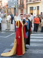 VI° Festa Medievale Festa del Ducato 2007 Camporotondo Etneo. Sfilata Storica. Gruppo Sbandieratori e Musici Leoni Reali.   - Camporotondo etneo (3482 clic)