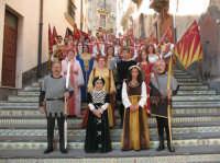 Sagra della Ricotta 2008. Sbandieratori di Sicilia Leoni Reali di Camporotondo Etneo (CT)   - Vizzini (1948 clic)