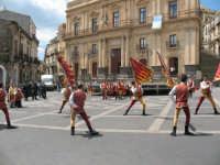 Sagra della Ricotta 2008. Sbandieratori di Sicilia Leoni Reali di Camporotondo Etneo (CT).  - Vizzini (2292 clic)