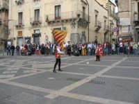 Sagra della Ricotta 2008. Sbandieratori di Sicilia Leoni Reali di Camporotondo Etneo(CT).  - Vizzini (2459 clic)