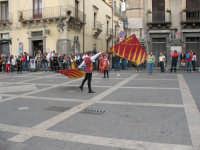 Sagra della Ricotta 2008. Sbandieratori di Sicilia Leoni Reali di Camporotondo Etneo (CT).  - Vizzini (2248 clic)