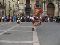 Sagra della Ricotta 2008. Sbandieratori di Sicilia Leoni Reali di Camporotondo Etneo (CT).  - Vizzini (2461 clic)