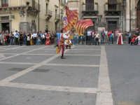 Sagra della Ricotta 2008. Sbandieratori di Sicilia Leoni Reali di Camporotondo Etneo (CT).  - Vizzini (2609 clic)
