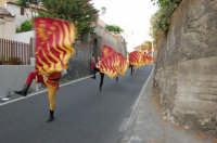 VII Edizione Festa del Ducato 2008. Sbandieratori e Musici Leoni Reali  - Camporotondo etneo (3415 clic)