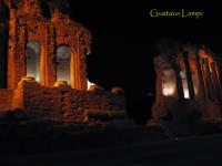 Scorcio notturno Teatro Greco  - Taormina (2633 clic)