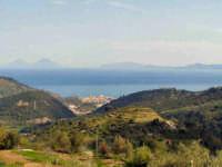 Panoramica di Brolo con vista delle Isole Eolie (ME)  - Brolo (6601 clic)