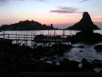 la bellissima alba sul lungomare di Aci Trezza  - Aci trezza (2115 clic)