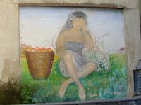 Murales 1 Uno dei murales realizzati sul finire degli anni 80 in via Santa Lucia  - Mascalucia (2349 clic)