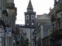 La chiesa madre di Mascalucia vista da piazza S.Vito    28/5/07 (2185 clic)