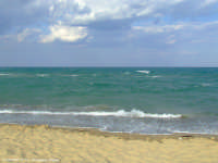 Mare autunnale della Playa di Catania (5384 clic)