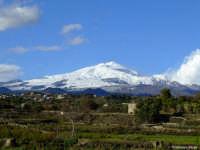 Etna innevata ripresa il 17/12/2007   - Tremestieri etneo (3392 clic)