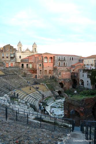 Teatro greco  - Catania - inserita il 30-Jan-20