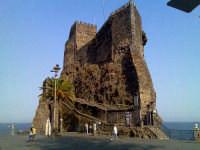 veduta del castello normanno  - Aci castello (10983 clic)