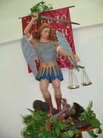 San Michele Arcangelo Statua di San Michele Arcangelo All'interno della Chiesa di Sant'Arcangelo  - Piraino (4853 clic)