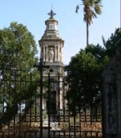 Cappella presente nel Cimitero Monumentale, foto del 02.06.2008  - Paternò (2839 clic)