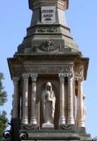 Particolare della Cappella presente nel Cimitero Monumentale, foto del 02.06.2008  - Paternò (3470 clic)