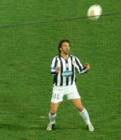 Alessandro Del Piero durante Messina-Juventus del 18/02/2006  - Messina (2445 clic)