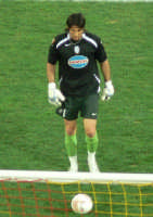 Gigi Buffon durante Messina-Juventus del 18/02/06  - Messina (2570 clic)