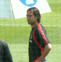 Alessandro Nesta durante Messina-Milan del 22-04-06  - Messina (2589 clic)