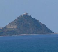 Santuario Visto  da Gliaca di Piraino foto del 19.02.2008  - Capo d'orlando (5086 clic)