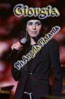 Giorgia al Palacatania - tour 2008 - Foto Angela Platania  - Catania (1078 clic)