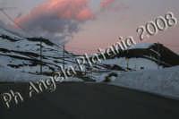 Paesaggio Innevato Versante Etna Rifugio Sapienza - Foto Angela Platania  - Etna (1789 clic)