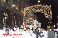 Catania - Festa di Sant'Agata - In via Etnea vicino la Posta Centrale  - Catania (2232 clic)