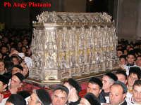 Catania - Festa di Sant'Agata - Lo scrigno in  Cattedrale  - Catania (5663 clic)
