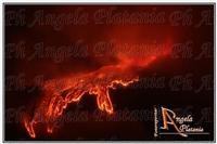 Etna passionale Eruzione del 23 ottobre 2011. Ph Angela Platania  - Zafferana etnea (2752 clic)