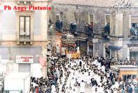 Catania - Festa di Sant'Agata - In via Grotte Bianche  - Catania (2651 clic)