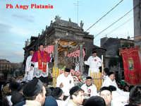 Catania - Festa di Sant'Agata - Davanti la chiesa di S. Agata al Carcere  - Catania (2453 clic)