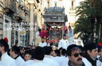 Festa di Sant'Agata 2005 - il fercolo attraversa piazza stesicoro  - Catania (2228 clic)