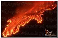 Etna passionale Eruzione del 23 ottobre 2011. Ph Angela Platania  - Zafferana etnea (3202 clic)