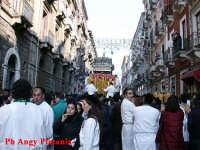 Catania - Festa di Sant'Agata - in via calì  - Catania (2239 clic)