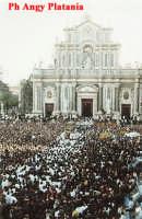 Catania - Festa di Sant'Agata - Rientro in cattedrale  - Catania (2451 clic)