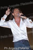 Povia in concerto a Gagliano Castelferrato (enna) Ph Angela Platania  - Gagliano castelferrato (3160 clic)