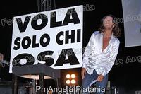 Povia in concerto a Gagliano Castelferrato (enna) Ph Angela Platania  - Gagliano castelferrato (3145 clic)