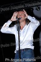 Povia in concerto a Gagliano Castelferrato (enna) Ph Angela Platania  - Gagliano castelferrato (3845 clic)
