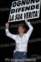 Povia in concerto a Gagliano Castelferrato (enna) Ph Angela Platania  - Gagliano castelferrato (4289 clic)