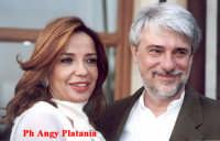 Taormina - Nastri d'argento - Simona Izzo e Ricky Tognazzi  - Taormina (4805 clic)