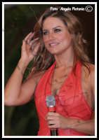 Lola Ponce ospite della trasmissione tv Insieme - Foto Angela Platania (Sono pregati quelli di Striscia e chiunque altro di non speculare sul lavoro altrui e di non prelevare le foto senza autorizzazione)  - Catania (1045 clic)