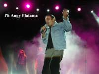 Adrano - Pino Mango in concerto ADRANO ANGELA PLATANIA