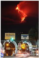 Etna Spettacolo della natura tutto è contaminato tranne il nostro vulcano che vive ancora secondo il suo ruolo.. cioè come natura... libera. Ph Angela Platania  - Giarre (1086 clic)
